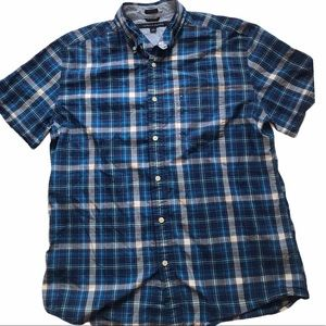 Tommy Hilfiger Casual Plaid Button Front Shirt